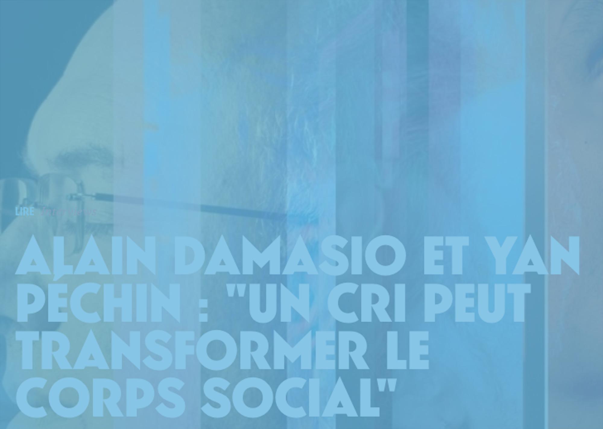 Un cri peut transformer le corps social – Sourdoreille